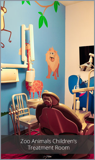 Zoo Animals Children's Treatment Room